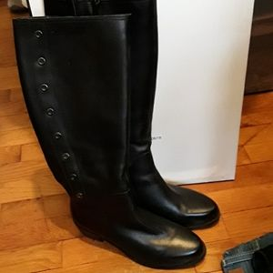 Ladies black boots vaneli 8m